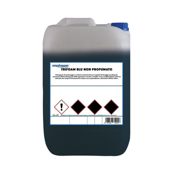 FraBer Tanica Trifoam blue non profumato kemikalije za autopraonu